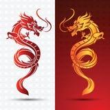 Dragon chinois illustration libre de droits