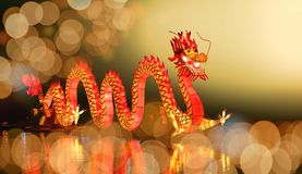 Dragon chinois d'an neuf image stock