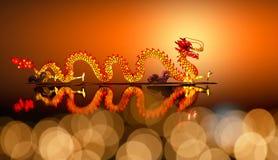 Dragon chinois d'an neuf image libre de droits