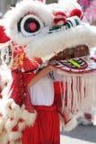 Dragon chinois de défilé d'an neuf photographie stock