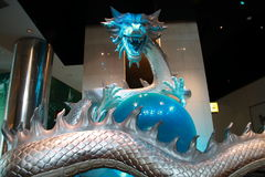 Dragon at City of Dreams royalty free stock image