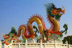 Dragon. Close up chinese dragon style Royalty Free Stock Image