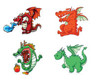 Dragon Collection Stock Photo