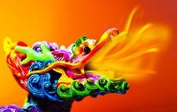 Dragon coloré Photographie stock