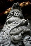 Dragon column royalty free stock photography