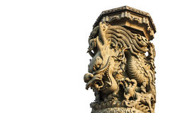 Dragon column Royalty Free Stock Images