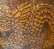 Dragon conçu sur les pots images libres de droits