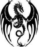 Dragon Crest ilustração do vetor