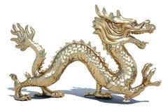 Dragon d'or Photographie stock libre de droits
