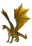 Dragon d'or Images stock
