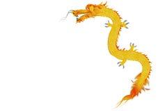 Dragon d'or illustration de vecteur