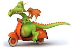 Dragon d'amusement Images libres de droits