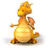Dragon d'amusement Photos libres de droits