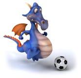 Dragon d'amusement Photographie stock libre de droits