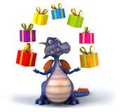 Dragon d'amusement Photos stock