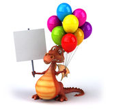 Dragon d'amusement Image libre de droits