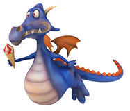 Dragon d'amusement Photo libre de droits