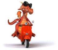 Dragon d'amusement Photo stock