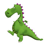 Dragon 3d cartoon Royalty Free Stock Photography
