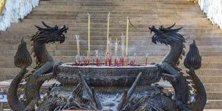 Dragon d'encensoir Image libre de droits