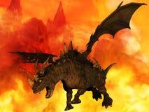 Dragon d'imagination Photographie stock libre de droits