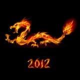 Dragon d'incendie Photo stock