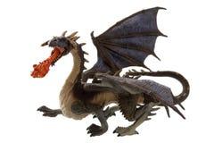 Dragon d'incendie de mouche Photographie stock