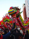 Dragon Dance Royalty Free Stock Photos
