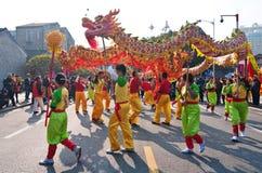 Dragon Dance Photo libre de droits