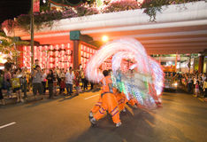 Dragon Dance Royalty Free Stock Images