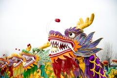 Dragon Dance Fotografering för Bildbyråer