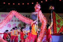Dragon dance Stock Photography