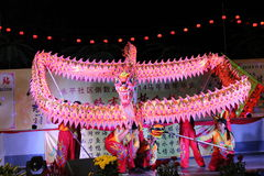 Dragon dance Stock Photos