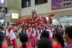 Dragon Dance Stock Photo