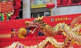 Dragon dance Royalty Free Stock Photos