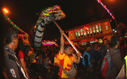 Dragon dance Stock Images