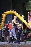 Dragon dance Royalty Free Stock Photo