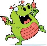 Dragon Dancing stock de ilustración