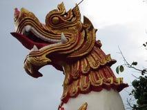 Dragon dans le ciel photographie stock libre de droits