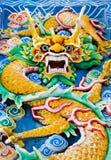 Dragon dans le temple à Kuala Lumpur (Malaisie) Images stock