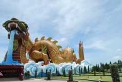 Dragon de acroupissement photo stock