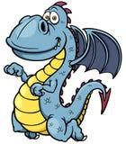 Dragon de bande dessinée Image stock