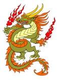 Dragon de danse Photographie stock
