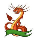 Dragon de dessin animé Photos stock