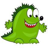 Dragon de dessin animé. caractère animal mignon Photo libre de droits
