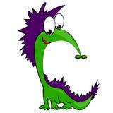 Dragon de monstre de dessin animé. illustration Images stock