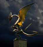 Dragon de nuit Photo stock
