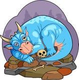 Dragon de sommeil Photos stock