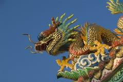 Dragon de temple Photos libres de droits