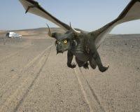 Dragon de vol Image libre de droits